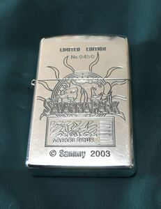 ZIPPO SAVANNA PARK ジッポー サバンナ パーク SAFARI TOUR シリアル番号入り パチンコ Sammy 2003 現状品