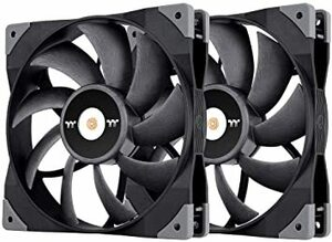 Thermaltake TOUGHFAN 14 2本セット PCケースファン 140mm CL-F085-PL14BL-A F