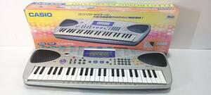 【1円~】【動作品】CASIO/カシオ MA-150 ミニキーボード 電子ピアノ 49鍵盤 アダプタ 箱