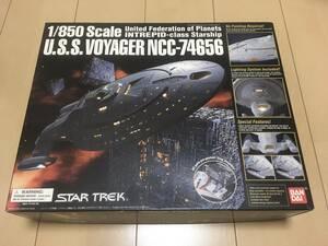 バンダイ スタートレック ヴォイジャー 塗装済みプラモデル エンタープライズ uss enterprise star trek ボイジャー