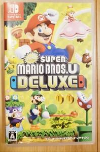 NewスーパーマリオブラザーズU デラックス Switch