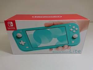 【中古】Nintendo Switch Lite ニンテンドースイッチライト ターコイズ
