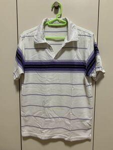 VILLAND ヴィランド 半袖 ボーダーTシャツ ボーダー柄 ポロシャツ Mサイズ