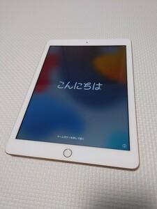 iPad 第6世代 Wi-Fi + Cellularモデル ゴールド 128GB