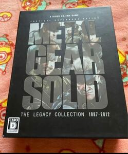 METAL GEAR SOLID THE LEGACY COLLECTION …