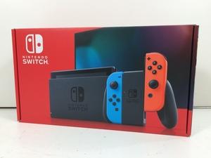任天堂 Nintendo Switch ニンテンドースイッチ Joy-Con (L) ネオンブルー/ (R) ネオンレッド 本体 未使用 9