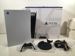 SONY PS5 プレイステーション5 本体 CFI-1000A 01 ディスクドライブ搭載型 動作品 ユーズド