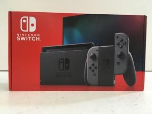 任天堂 Nintendo Switch ニンテンドースイッチ Joy-Con (L) グレー / (R) グレー 本体 未使用