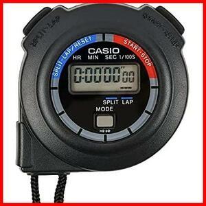 【最安】ブラック 消音 計測 スプリット KK-141 HS-3C-8AJH ラップタイム ストップウォッチ CASIO(カシオ) ブラック