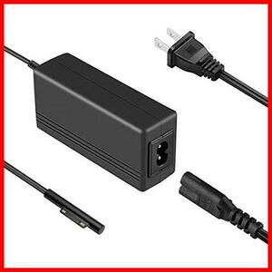 Surface Pro 充電器, Cshare 15V 2.58A Surface 充電器 65W 44W 36W 24Wに応用可能 Surface 電源アダプター for Surface Pro 7/ Surface