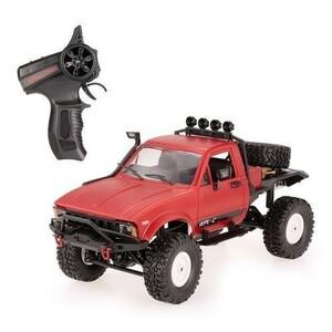 売れ筋商品!WPL C14 1/16 2.4G4WD RCクローラーヘッドライトRTR付きオフロードセミトラック車i027