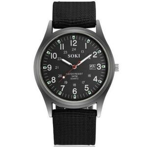 激安!レロジオmasculino 2020 ブランドの高級ビジネス革リロイhombreメンズ腕時計カジュアルsaat montre黒saatlerホット販売