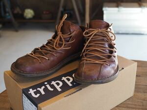 trippen トリッペン Tyler f(red wax)サイズ37