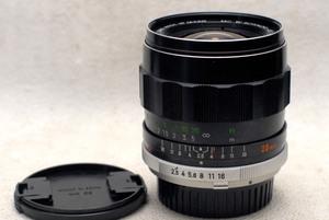 MINOLTA ミノルタ純正 MC W.ROKKOR-Sl 28mm 単焦点高級ワイドレンズ 1:2.5 希少な作動品