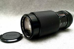 Canon キャノン純正 FD 70-210mm 高級望遠ズームレンズ (MACRO) 希少な作動品