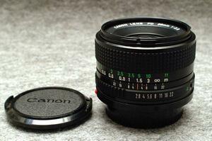 Canon キャノン 純正 FD 28mm 単焦点高級ワイドレンズ 1:2.8 希少・完動品