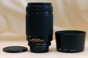 Nikon ニコン 純正ED AF NIKKOR 70-300mm オートフォーカス高級望遠ズームレンズ 希少・良好品