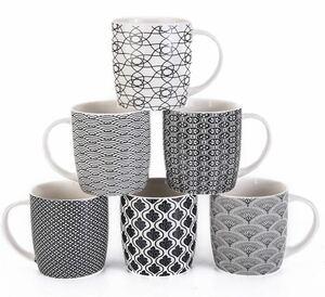 セラミックコーヒーマグカップ 6個セット