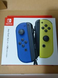 新品 Switch Joy-Con(L) ブルー/(R) ネオンイエロー Nintendo 任天堂 JOY-CON ジョイコン