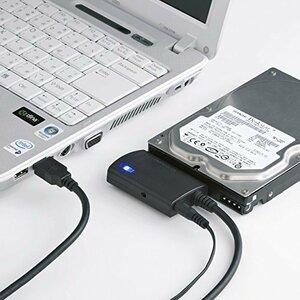 限定価格0.8m サンワサプライ SATA-USB3.0変換ケーブル HDD/SSD/光学式ドライブ ケーブル長0.8mTBU4