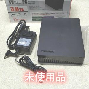 TOSHIBA HD-ED30TK 録画用 3TB 東芝 外付けハードディスク 外付けHDD