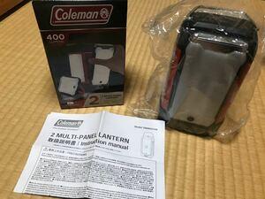 Coleman コールマン 2マルチパネルランタン LEDランタン 未使用
