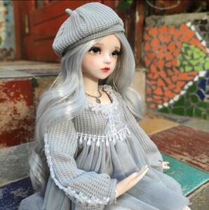 SDDD 球体関節人形 服 人形 MDD MSD コスチューム ドール用 DOLL 衣装 KUMAKO 熊妹 ドレス ワンピース 帽子 レース かわいい