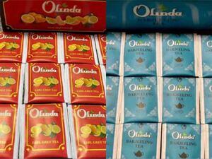 お茶 オリンダスアールグレイテ& オリンダ ダージリンティー 50袋100gお得セット