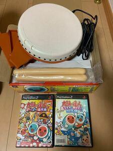 PlayStation2 太鼓の達人 ソフト2枚あつまれ!祭りだ!四代目! ゴーゴー五代目