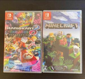 マリオカート8デラックス Minecraft 2本セット