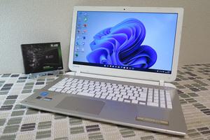 フルHD【高速Core i7(第4世代)★メモリ8GB+爆速新品SSD512GB】東芝 T75/NG 最新Windows11+Office2019 H&B★Webカメラ/Blu-ray/Wi-Fi/HDMI