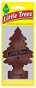 リトルツリー エアフレッシュナー 【Leather 6pac】 6枚セット LittleTree 芳香剤 レザー