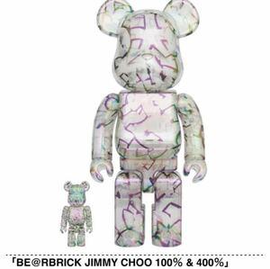 新品未開封 BE@RBRICK JIMMY CHOO 100% & 400% MEDICOM TOY ベアブリック メディコムトイ