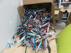 ボールペン シャープペン 大量 おまとめ 120サイズ 総重量約15.1Kg 文具 筆記用具