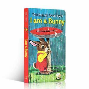 英語絵本 I am a bunny