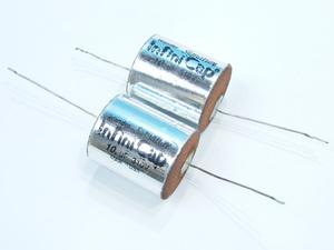 インフィニ キャップ コンデンサー 2点セット 310V 10μF #75120 Infini Cap オーディオパーツ 蓄電器 キャパシタ