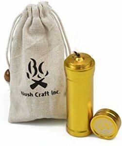 ゴールド 90mm Bush Craft ブッシュクラフト オイルインサートキャンドル 90 ゴールド 90mm