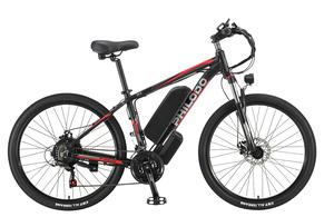26インチ 電動自転車 大容量48V13Ah1000W 最大時速45キロ 外装シマノ21段変速 Dブレーキ LEDライト搭載 アルミフレーム 2WAYと3WAY切り替え