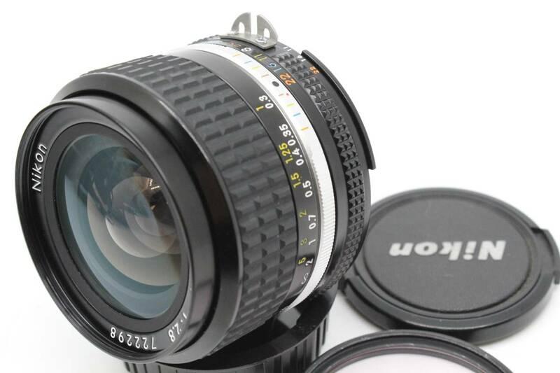 【送料無料1円~/極上美品】 ニコン Nikon Ai-S AIS NIKKOR 24mm F2.8 広角 単焦点 PROTECTOR MT2618