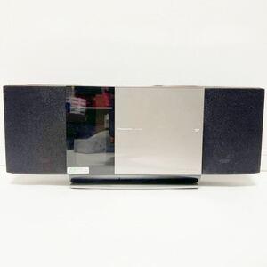 T10035 Panasonic コンパクトステレオシステム SC-HC40 CD iPod SD録音 再生 FM AM iPhone ダイレクトドッキング AAC Bluetooth D-dock