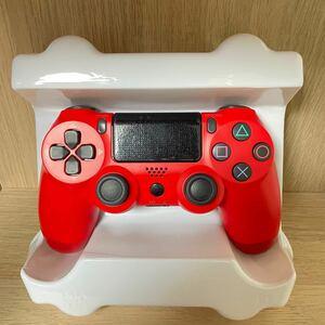 【新品】PS4 ワイヤレスコントローラー マグマレッド