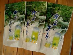 送料無料 2021年産 新茶 静岡県産 特上水出し煎茶10g×10ケ×3袋 Green tea 深むし茶カテキン 濃い緑茶 美味しいお茶!