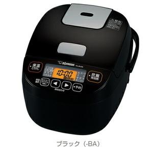 象印:マイコン炊飯ジャー極め炊き(ブラック)/NL-BV05-BA
