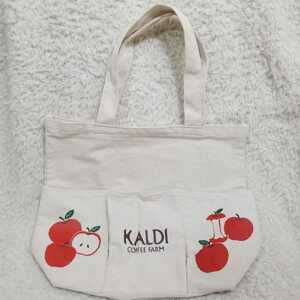 カルディ りんご トートバッグ