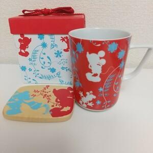 レア☆ ディズニーマグカップ&コースター