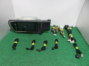 R 224 動作品保証付/アクア NHP10 Panasonic製SDナビ/Strada/CN-LS710D/メモリーナビ/Bluetooth内蔵 TVフルセグ地デジ/ 配線セット付属