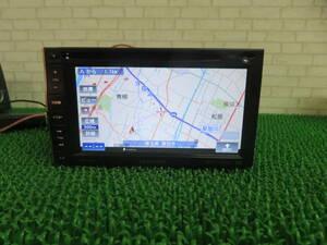 R31 動作品保証付/カロッツェリア SDナビ AVIC-MRZ66/TV/DVD/CD/Bluetooth/USB/TVワンセグ地デジ内蔵 本体のみ 目立つキズあり 動作正常
