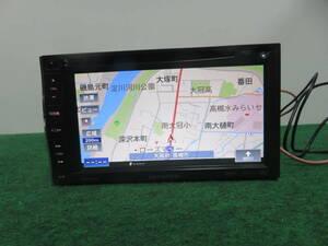 R131 動作品保証付/カロッツェリアSDナビ AVIC-MRZ66 TVワンセグ地デジ Bluetooth 本体のみ