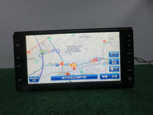 R189動作品保証付 ダイハツOP クラリオン製SSDナビ 86100-B2080/TVワンセグ内蔵/CD AUX