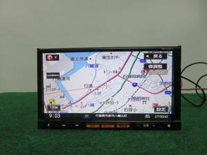 R281 動作品保証付/日産純正 2013年SDカーナビ人気/MM113D-A /TVフルセグ地デジ内蔵/Bluetooth・CD・SD・TV・VTR・USB・iPod 本体のみ